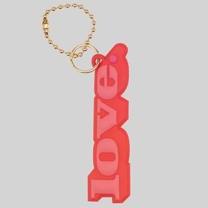 Marc Jacobs Love Silicone Bag Charm
